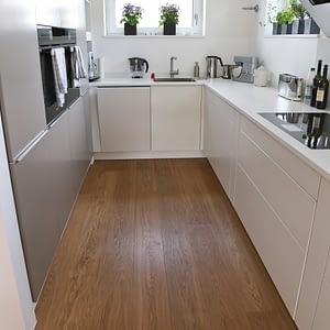 Parkettboden Küche Stegemann Eiche